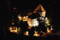 Chateau de santenay night