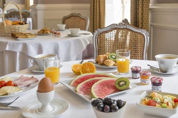 Hotel de la poste - najeti - breakfast