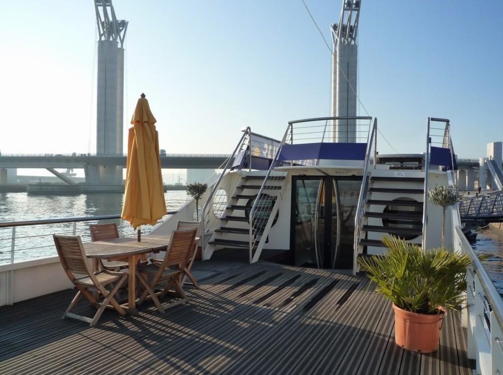 Die Bodega in Seine - Brücke