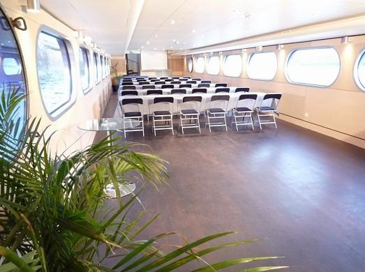 The bodega in Seine - theater seminar room