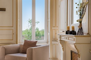 Petit Salon - Herrenhaus von Kerhuel