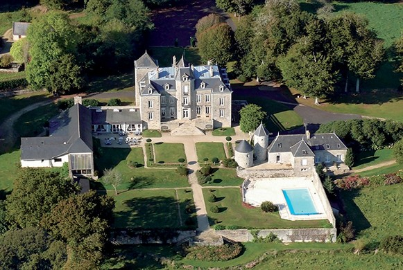 Manoir de kerhuel - charmantes Herrenhaus im Finistère