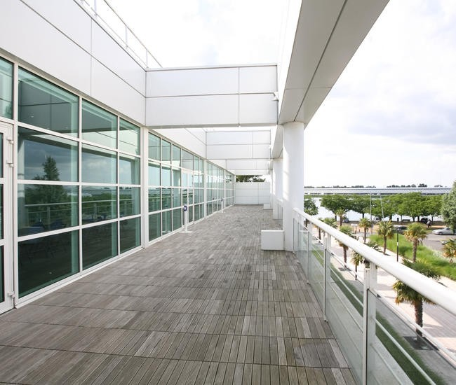 Centro Congressi di Bordeaux - terrazza