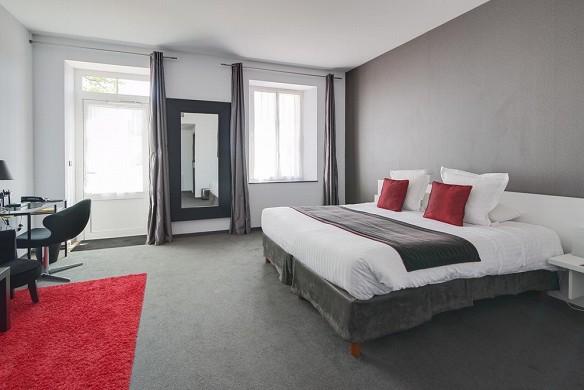 Domaine des lys - dormitorio