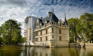 Château d'Azay Le Rideau - Facciata
