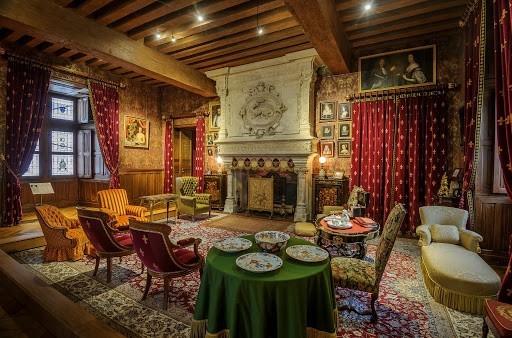 Château d'azay le rideau - living room
