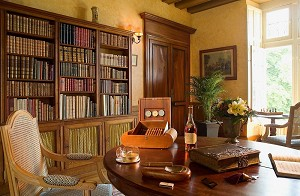 Biblioteca - castillo de Noizay