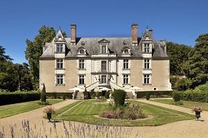Château de Noizay - Front