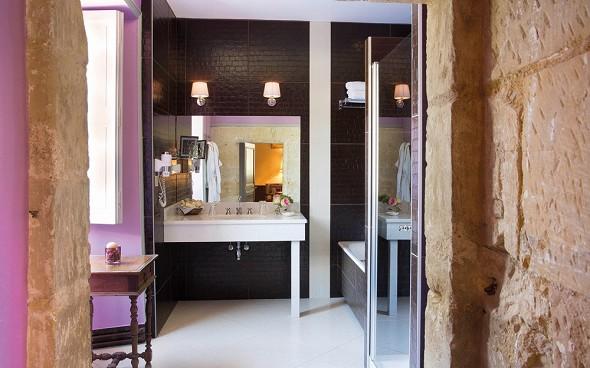 Chateau de noizay - baño