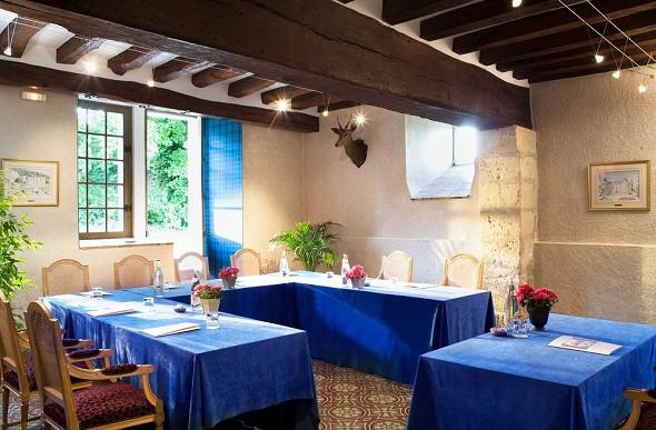 Chateau de Noizay - sala de seminarios