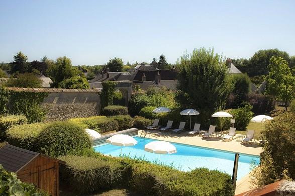 Castillo de Noizay - piscina
