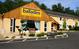 Hotel Initial by balladins Vendôme - 2 star hotel with meeting rooms