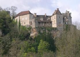Chateau de Cenevieres - Vista exterior