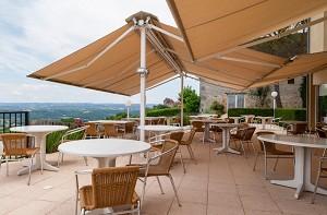 Le Relais de Castelnau - Terrasse