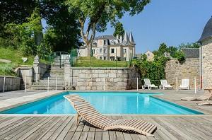 Château d'Orfeuillette - Piscina