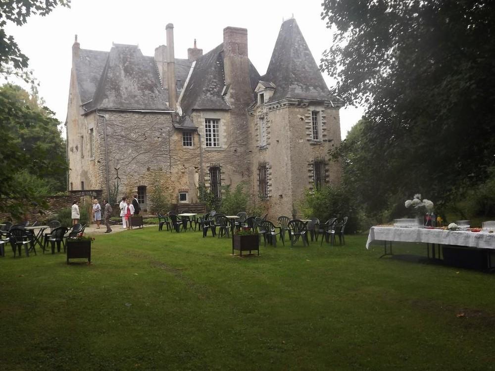 Herrenhaus von Rouesse - Garten