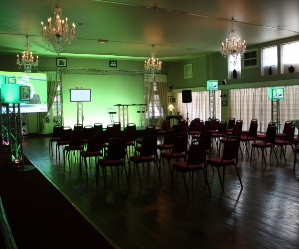 El prado florido - sala de conferencias equipada