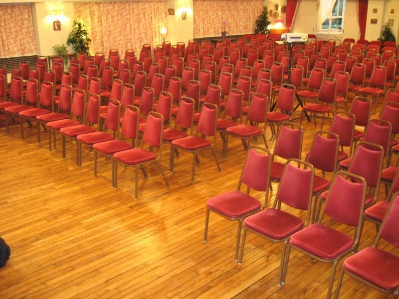 El prado de flores - sala de reuniones del teatro