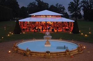 Chateau de Villiers Bacle giardino