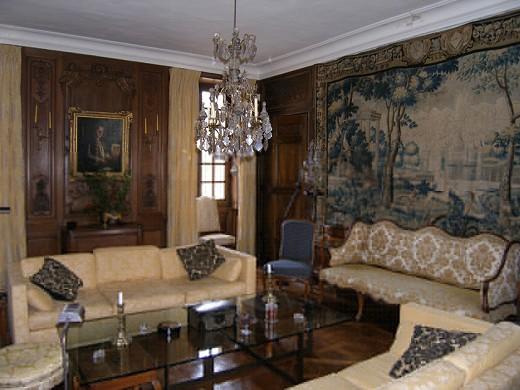 Chateau de Villiers il salone d'inverno