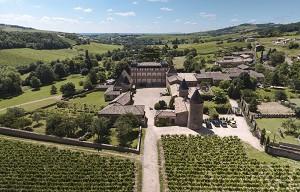 Château de Chasselas - Übersicht