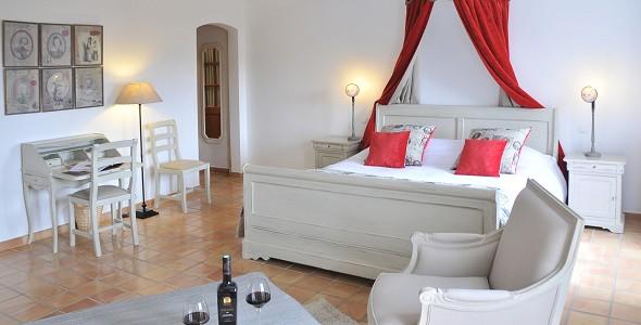 Chateau de Berne - habitación de lujo