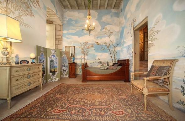 Chateau de mauriac - Blue Room