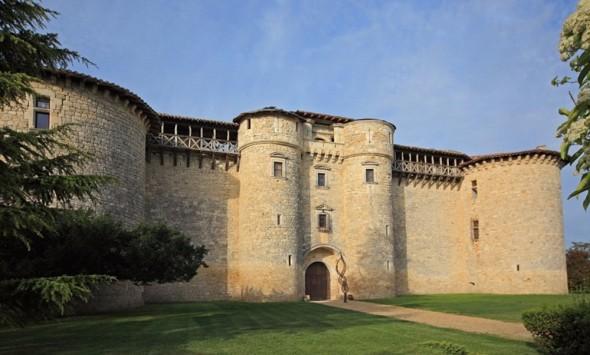 Chateau de mauriac - Front