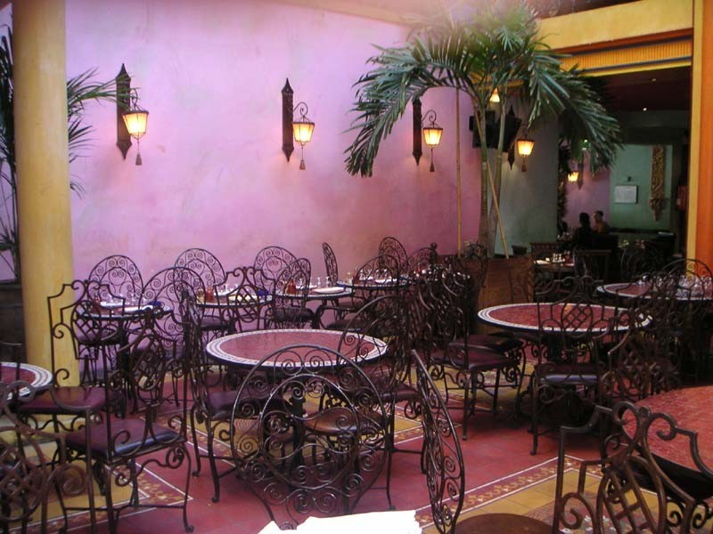 The Saint-Nicolas Court - restaurante