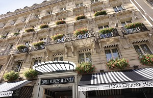 Hotel Elysees Regencia - Front