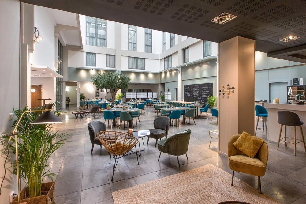 Appart'city comfort lyon part god - restaurante