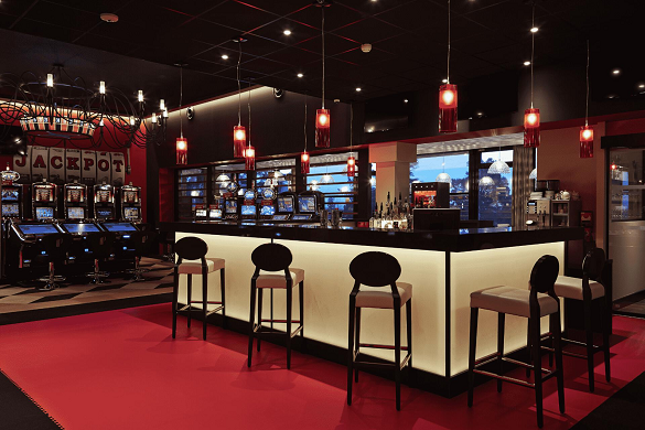 Casino of Saint Galmier - bar