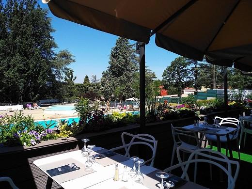 Casino of Saint Galmier - terrace