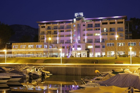Adelphia marina hotel and spa - evening