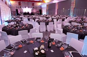 Disposición para banquetes