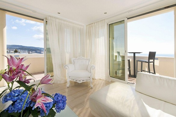 Hotel West End - suite con vista sul mare