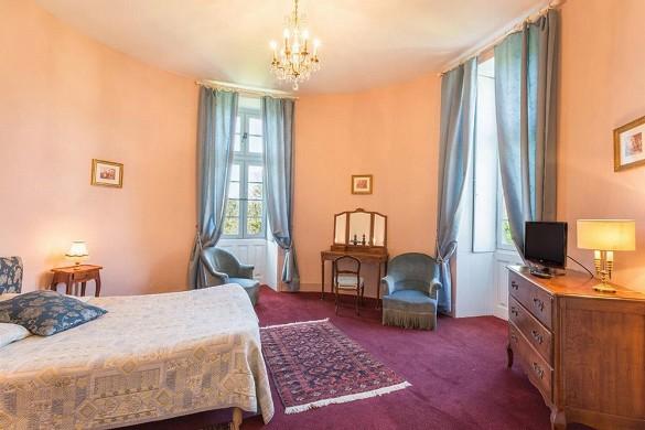 Chateau de la Cote - Schlafzimmer