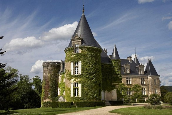 Chateau de la Cote - außen