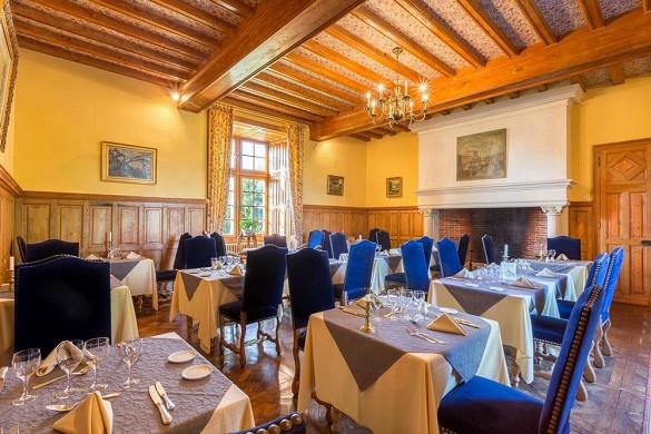 Chateau de la Cote - Restaurant im Schloss
