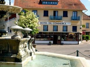 Hotel Du Commerce Nogent - Nogent local da reunião