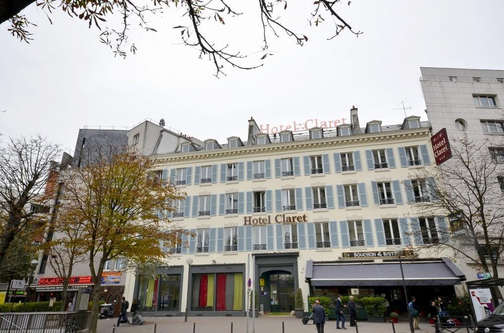 Hotel claret salle s minaire paris 75 for Hotel paris 75