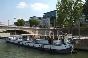 La Peniche Aabysse - Sala de alquilar un barco