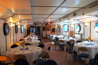 Die Barge aabysse - Bankett