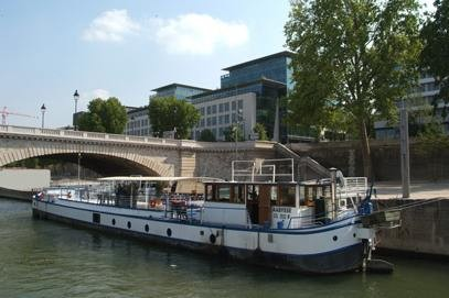 Die Barge aabysse - mieten Zimmer ein Boot