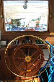 La barcaza del timón