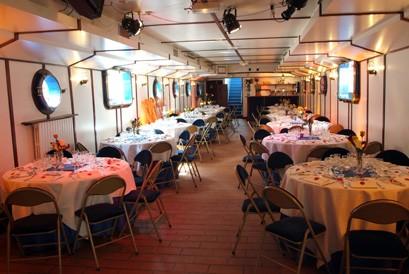 Die Barge aabysse - Interieur