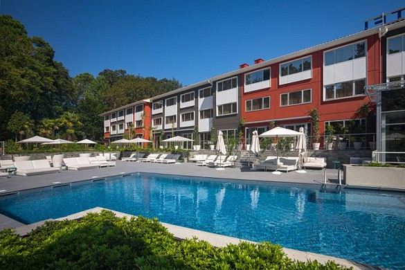 Novotel spa spa fitness biarritz anglet - outdoor heated pool