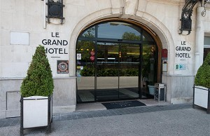 Le Grand Hotel Tours - Home