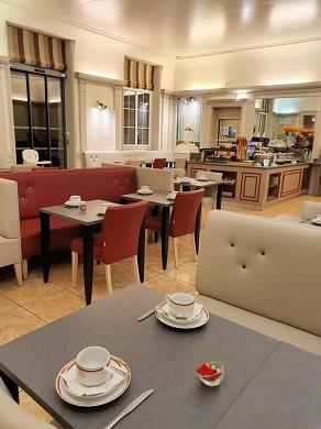 Best western central hotel tours - sala de desayuno