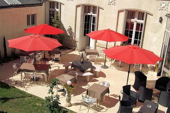 Best western central hotel tours - terraza